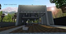 αspirε | Modern House Concept | Xαviεr Minecraft Map & Project