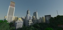West Egg City (Modern City Download) Minecraft Map & Project
