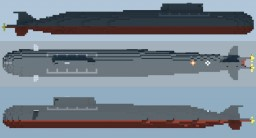 Oscar II class submarine Minecraft