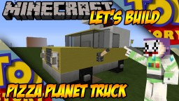 Pizza Planet Truck (Toy Story) Minecraft Map & Project