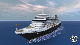M/S Queen Elizabeth Minecraft Map & Project