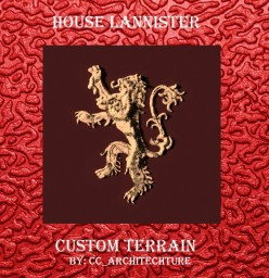 A Lion still has claws - Custom GoT Terrain (House Lannister) Minecraft Map & Project