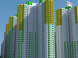 Kai Ching Estate (啟晴邨) Minecraft Map & Project