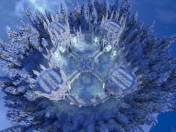 Ice Hub/Spawn Minecraft Map & Project