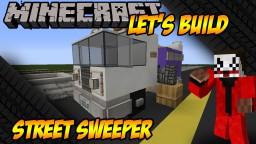 Minecraft Vehicle Tutorial - Street Sweeper