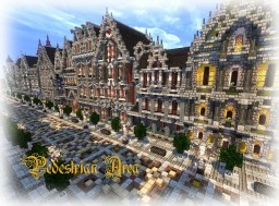 [Glaciem] - Pedestrian Area of Lucrécy Minecraft Map & Project