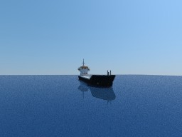 Oil tanker Minecraft Map & Project