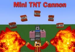 Mini TNT Cannon Minecraft Map & Project