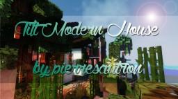 Tilt modern house Minecraft Project