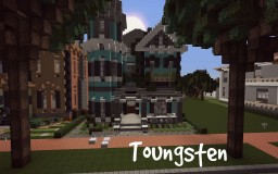 Toungsten- Romanesque Victorian Home Minecraft Map & Project