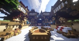 MineVast Skywars Spawn Minecraft Map & Project