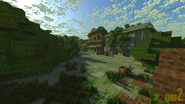 The Last Of Us Alone And Forsaken An Apocalyptic Adventure Game - Last-of-us-map-minecraft