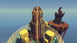 Let's Build Challenge: Two Towers Minecraft Project