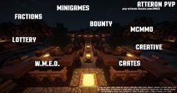 Atteron PvP | Factions Creative W.M.E.D | 1.8.8 | NL Minetopia server open! Minecraft Server