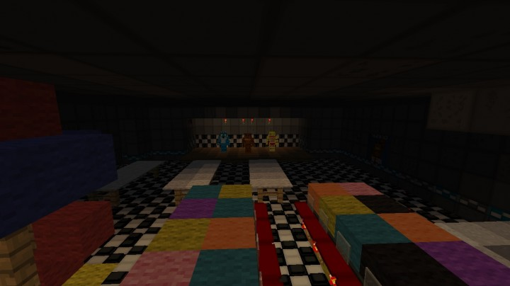 Five Nights At Freddy S 2 The Map Updated Minecraft