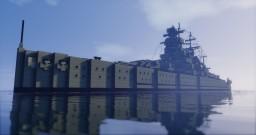 German Pocket Battleship: Admiral Graf Spee Minecraft Map & Project