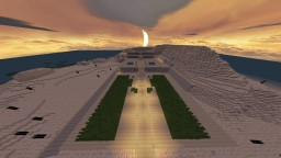 Hapshepsut Mortuary Temple Minecraft Map & Project