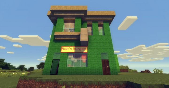 Bob S Burgers In Minecraft Minecraft Project