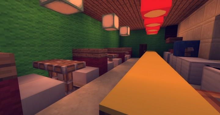 Bob S Burgers In Minecraft Minecraft Project