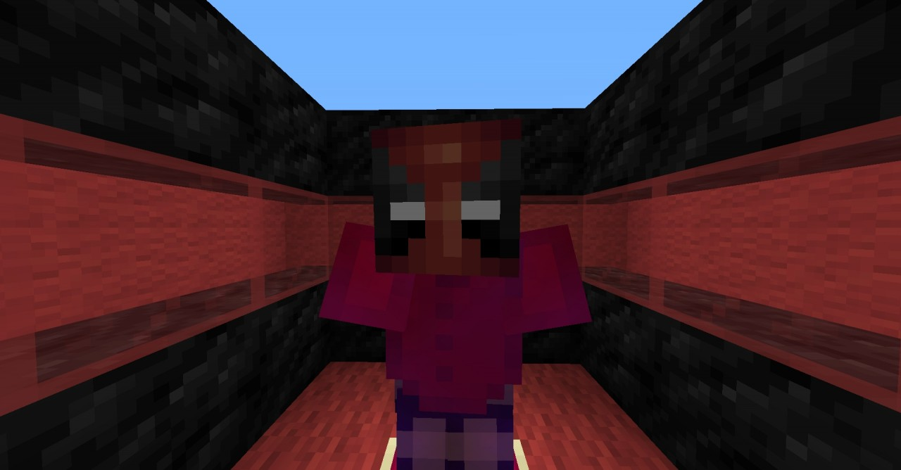 how to build deadpool in minecraft
