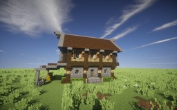 Small medieval house [Download] [Schematic] Minecraft Map & Project