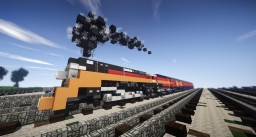 Coast Daylight (Steam Train) Minecraft