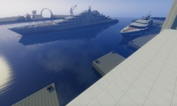 Azzam Megayacht Minecraft Project