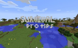 How To Play Survival Like A PRO! Minecraft Blog Post