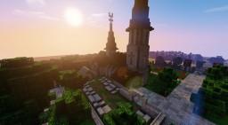 Petite église médiévale (serveur Rp-build) Minecraft Map & Project