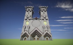 The Gothic Cathedral [Download] [Schematic] Minecraft Map & Project