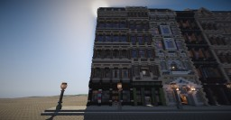 classic barber shop Minecraft Map & Project