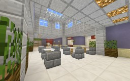 Mini Mall Shopping Centre Minecraft Project