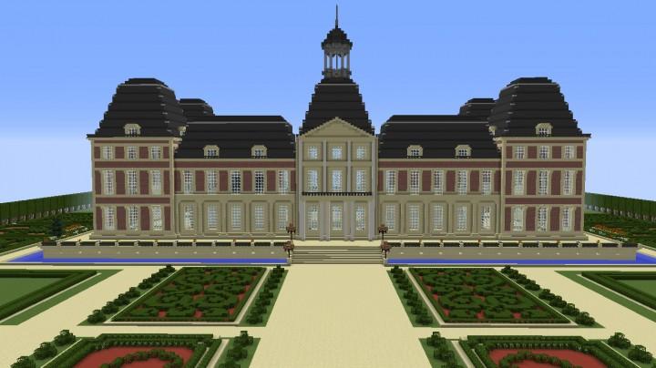 Vieux chateau de meudon minecraft project - Chateau de minecraft ...