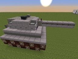 [Tank]-[Schematic] Minecraft Map & Project