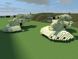 AAT Battle Tank STAR WARS Minecraft