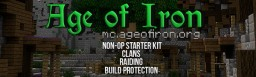 Age of Iron - Medieval Themed Factions/Clans Minecraft Server