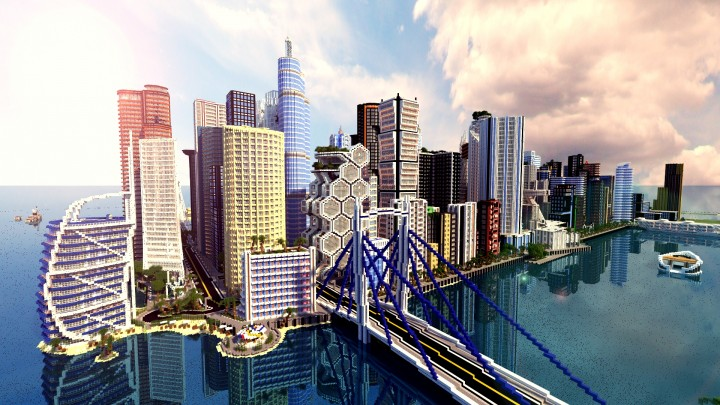 Infinity city the most complex modern city in minecraft minecraft infinity city the most complex modern city on minecraft gumiabroncs Choice Image