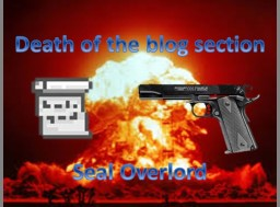Death of the Blog Section - What Happened? Minecraft Blog Post