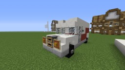 Delivery Truck Minecraft Project