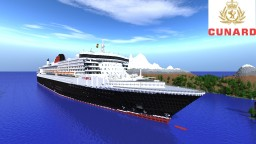 RMS Queen Mary 2 Minecraft Map & Project