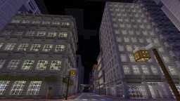 MCPE City Minecraft Map & Project