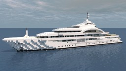 Maryah - Superyacht [1:1 Scale] Minecraft Map & Project
