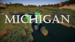 Michigan Map! Minecraft Map & Project