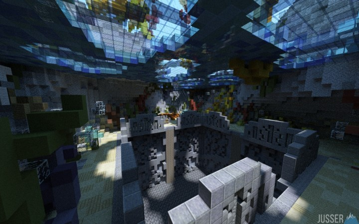 4 FREE Prison Mines {DOWNLOAD} ~ a project by Jusser ~ Minecraft Project