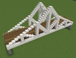 Polynesian Truss Bridge Minecraft Map & Project