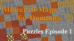 Puzzle Creation Tutorial ep.1 Minecraft Blog Post