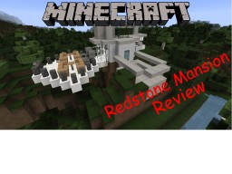 Modern Redstone Mansion v1: The House Minecraft Map & Project