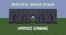 Beautiful Bridge Design | Haribo Gaming Minecraft Map & Project