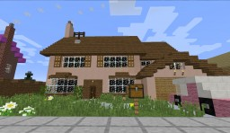 Springfield, Takoma. (The Simpsons City) 1.0.1 Minecraft Project