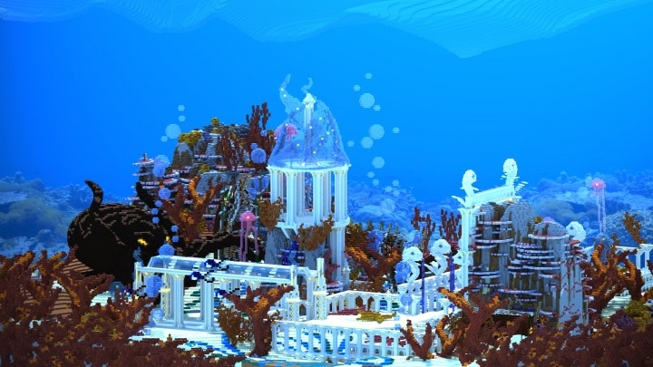 Glass Mermaid of The Seven Sea Minecraft Project